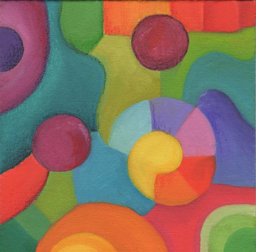 """Mardi Gras"" original fine art by Susan Bertocci"