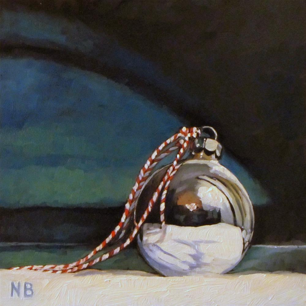 """Ball and Twine"" original fine art by Nora Bergman"