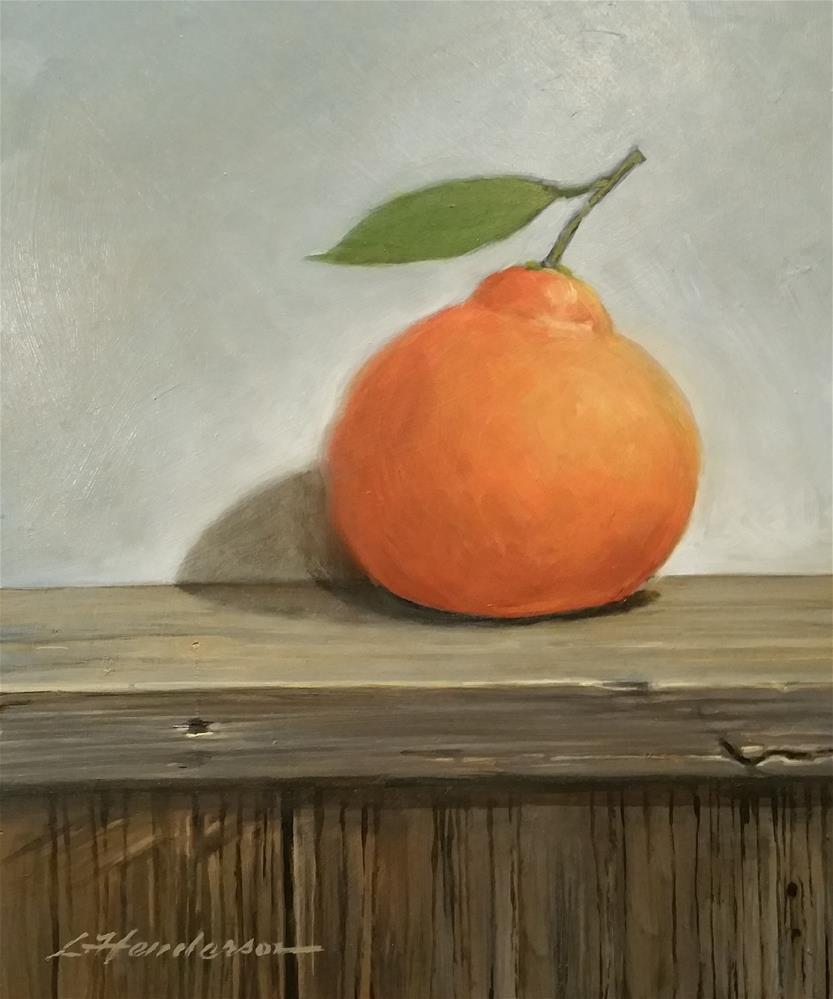 """Tangerine"" original fine art by Lael Henderson"