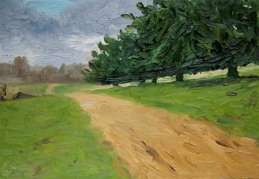 """Path"" original fine art by Jethro Knight"
