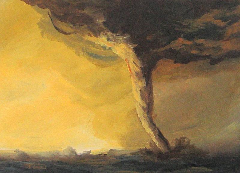 """Tornado III"" original fine art by Torrie Smiley"