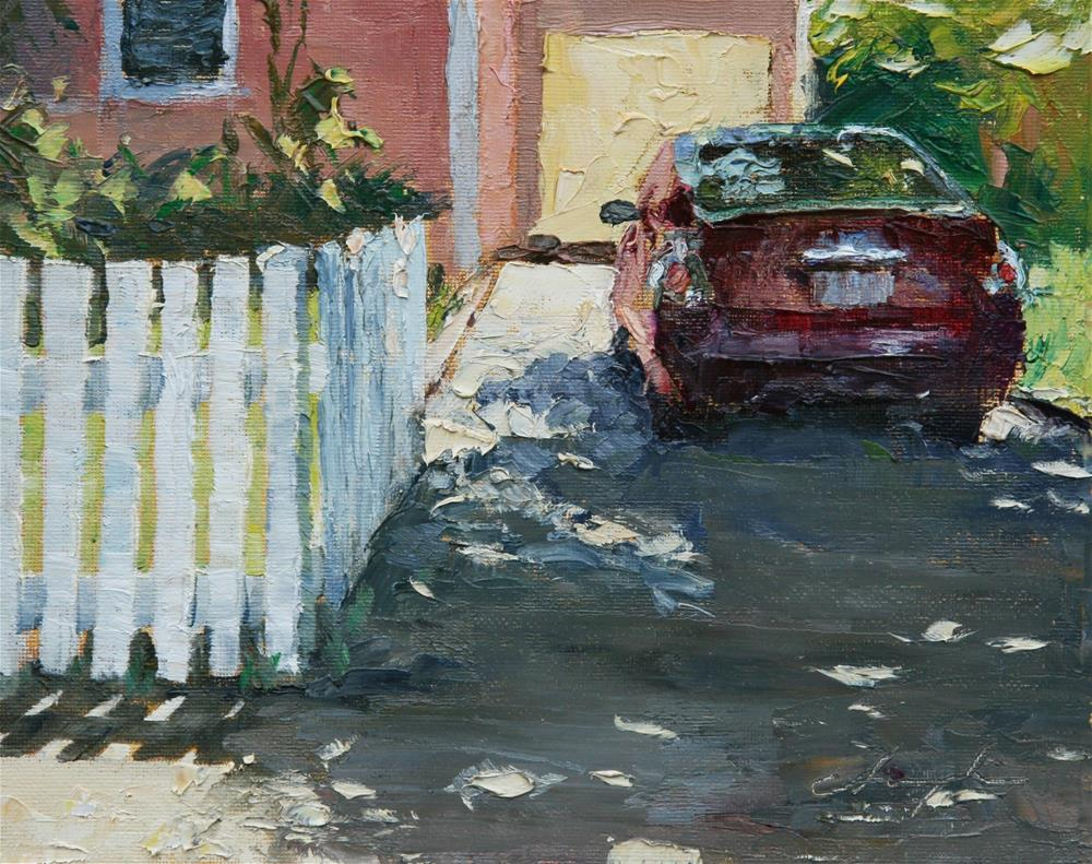 """The Picket Fence Challenge"" original fine art by Chuang Liu"
