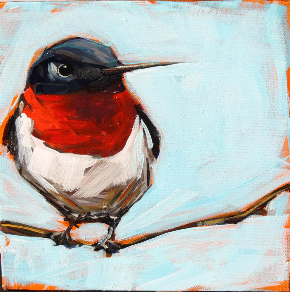 """Steve's Bird"" original fine art by Kandice Keith"