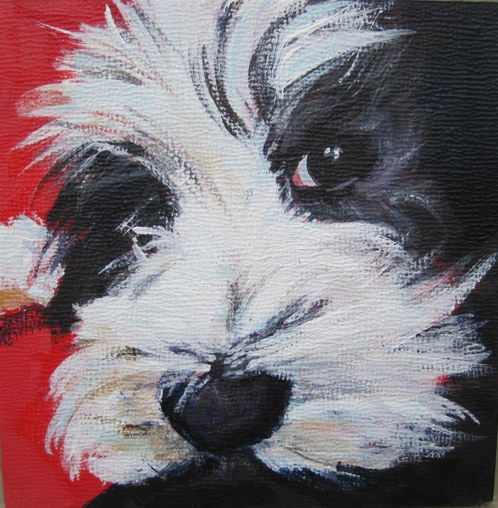 """Sofie"" original fine art by Diane Campion"