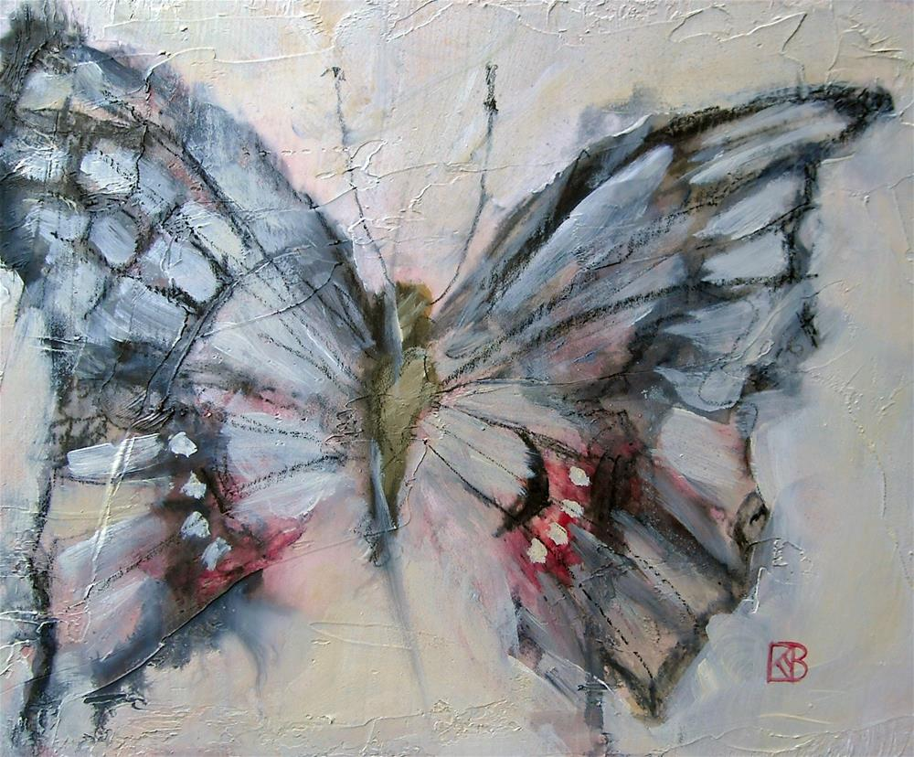 """Ethereal Wings"" original fine art by Kathleen Barnes"
