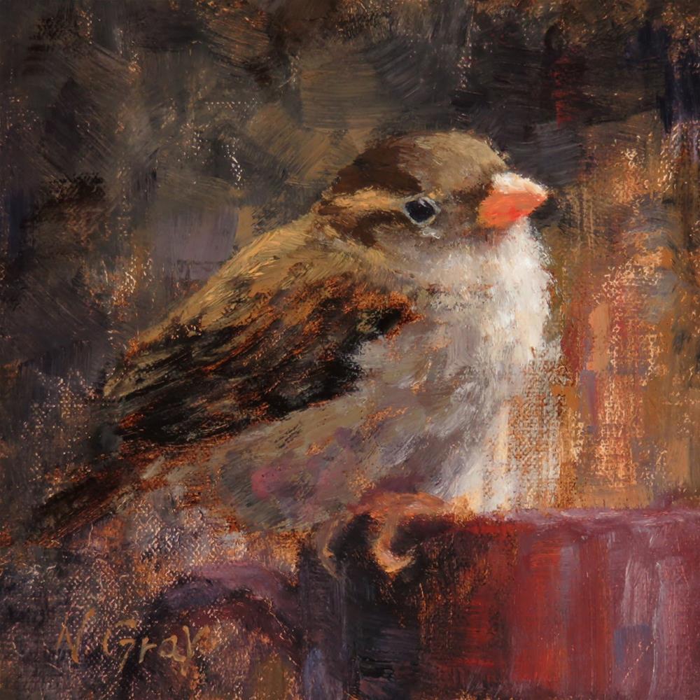 """Tea Break"" original fine art by Naomi Gray"