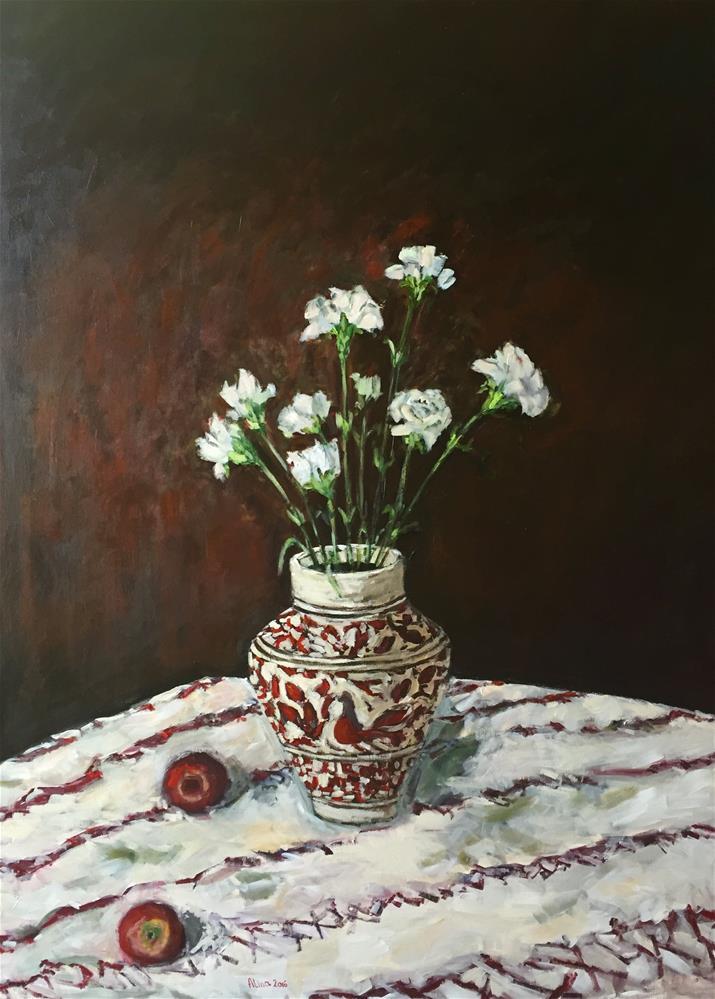 """""""New Vase"""" original fine art by Alina Vidulescu"""