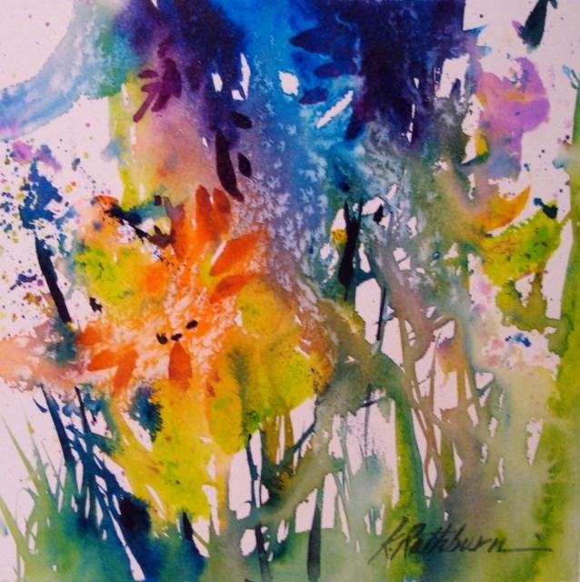 """The Rite of Spring"" original fine art by Kathy Los-Rathburn"