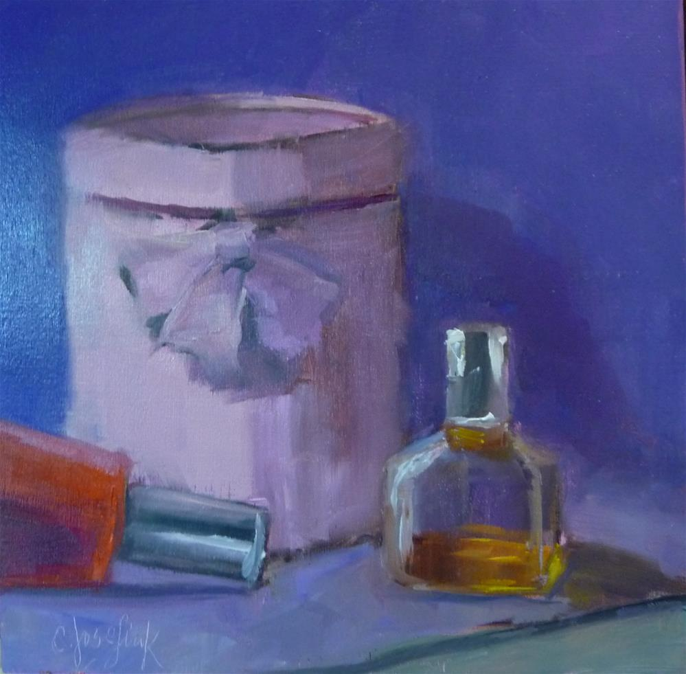 """Pink"" original fine art by Carol Josefiak"