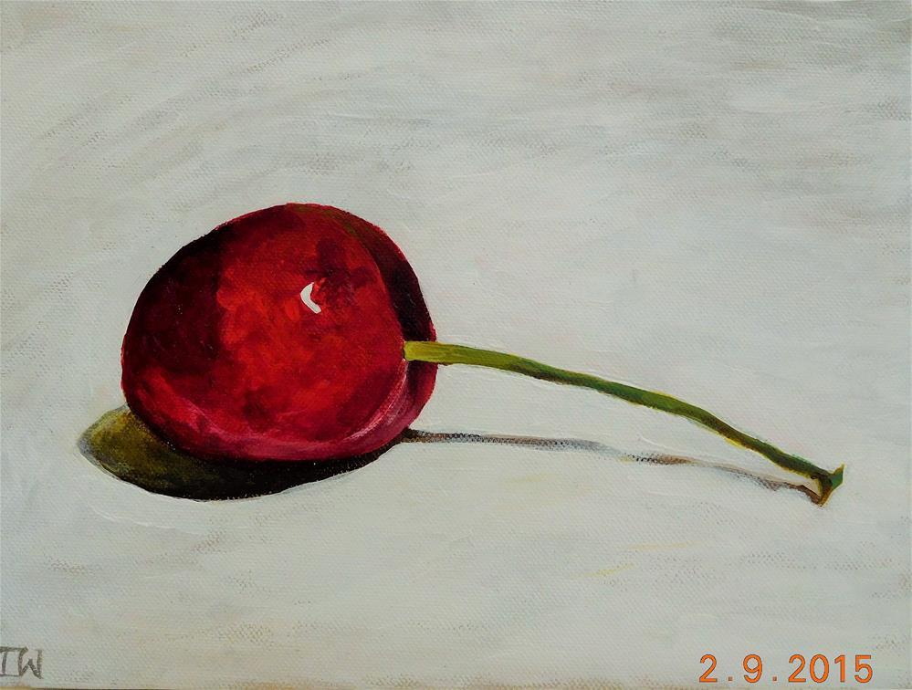"""Cherry"" original fine art by Daryl West"