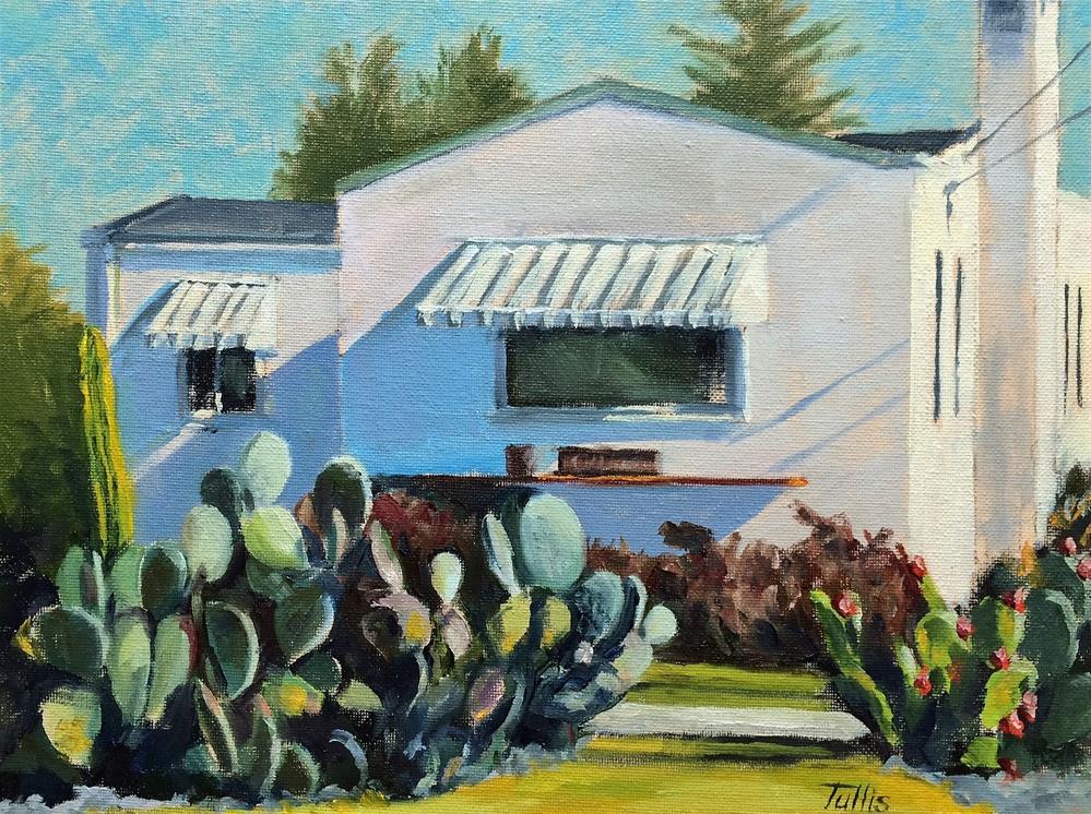 """Cactus Pad"" original fine art by John Tullis"