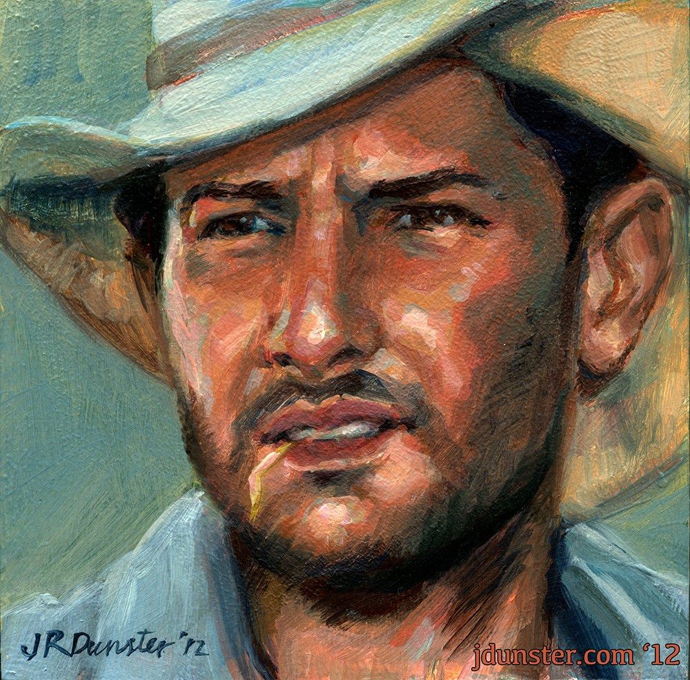 """Farmhand"" original fine art by J. Dunster"