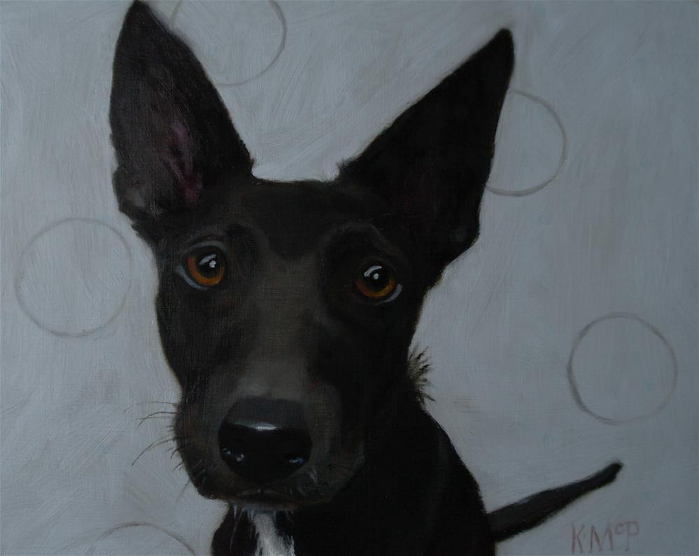 """I'm All Ears"" original fine art by Kathleen McParland"