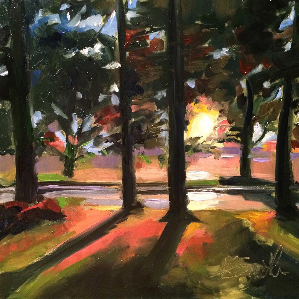 """feeling light"" original fine art by Kim Smith"