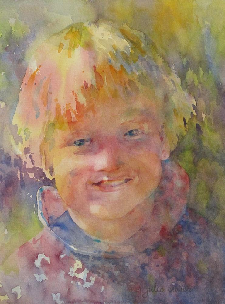 """Julie Bug"" original fine art by Julie Crouch"