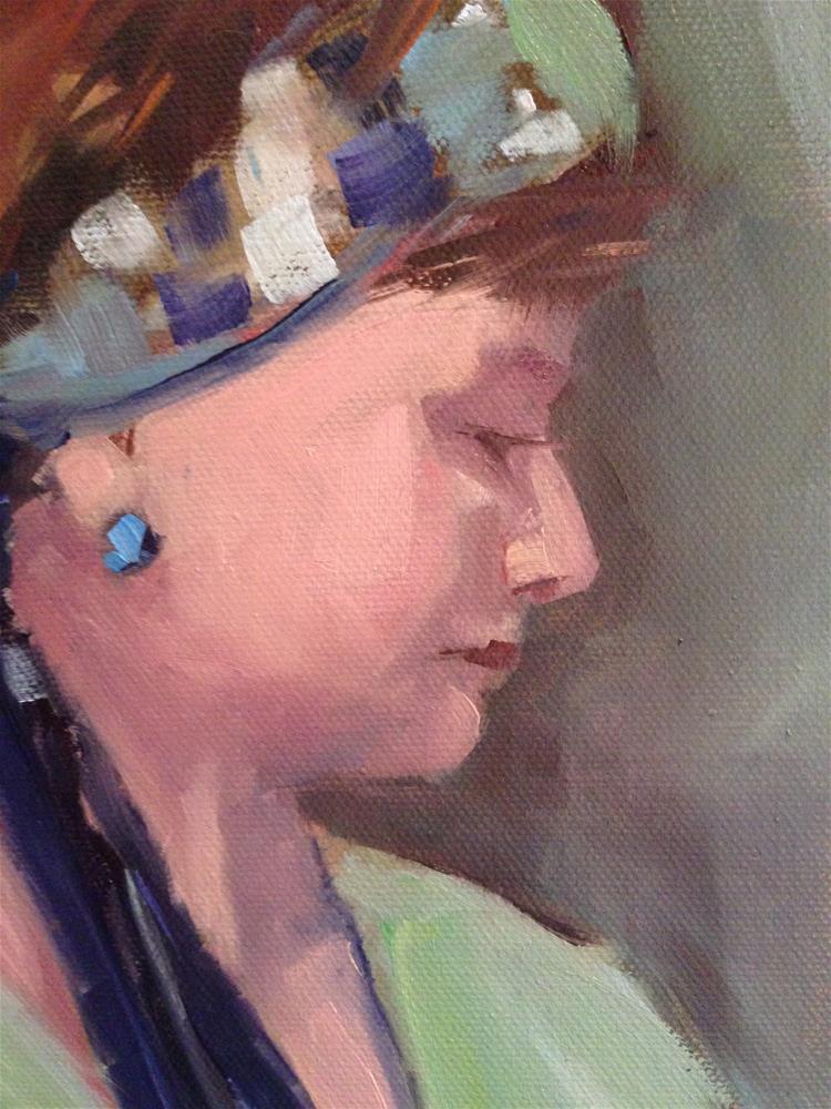 """#40 The Letter"" original fine art by Patty Voje"