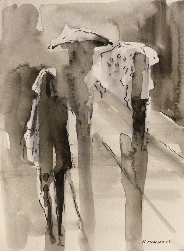 """urban5"" original fine art by Katya Minkina"