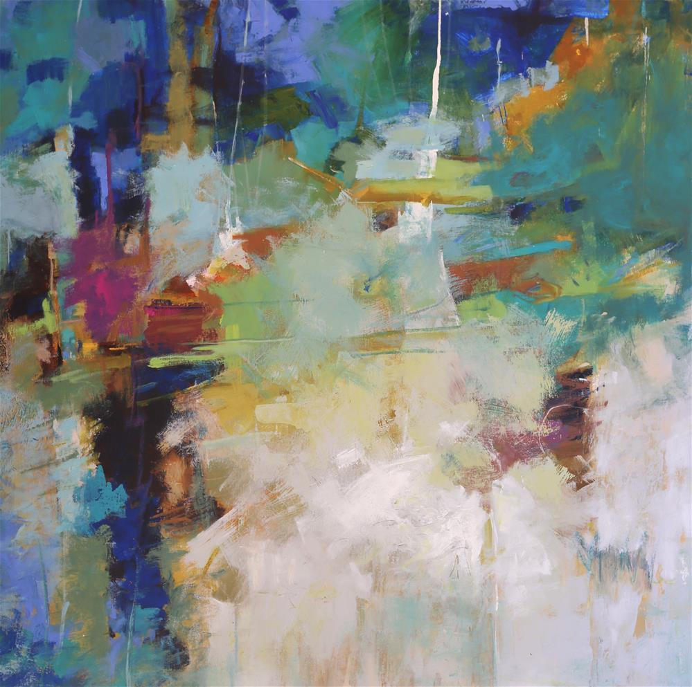 """Bam"" original fine art by Elizabeth Chapman"