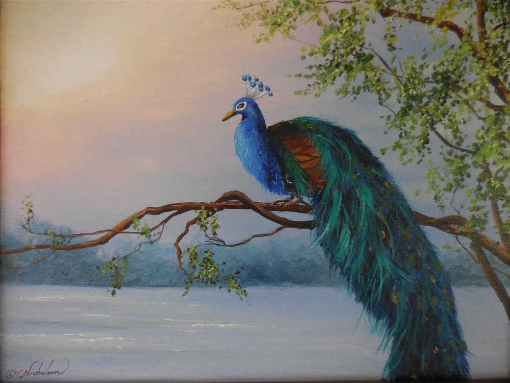 """Out on a Limb"" original fine art by Terri Nicholson"