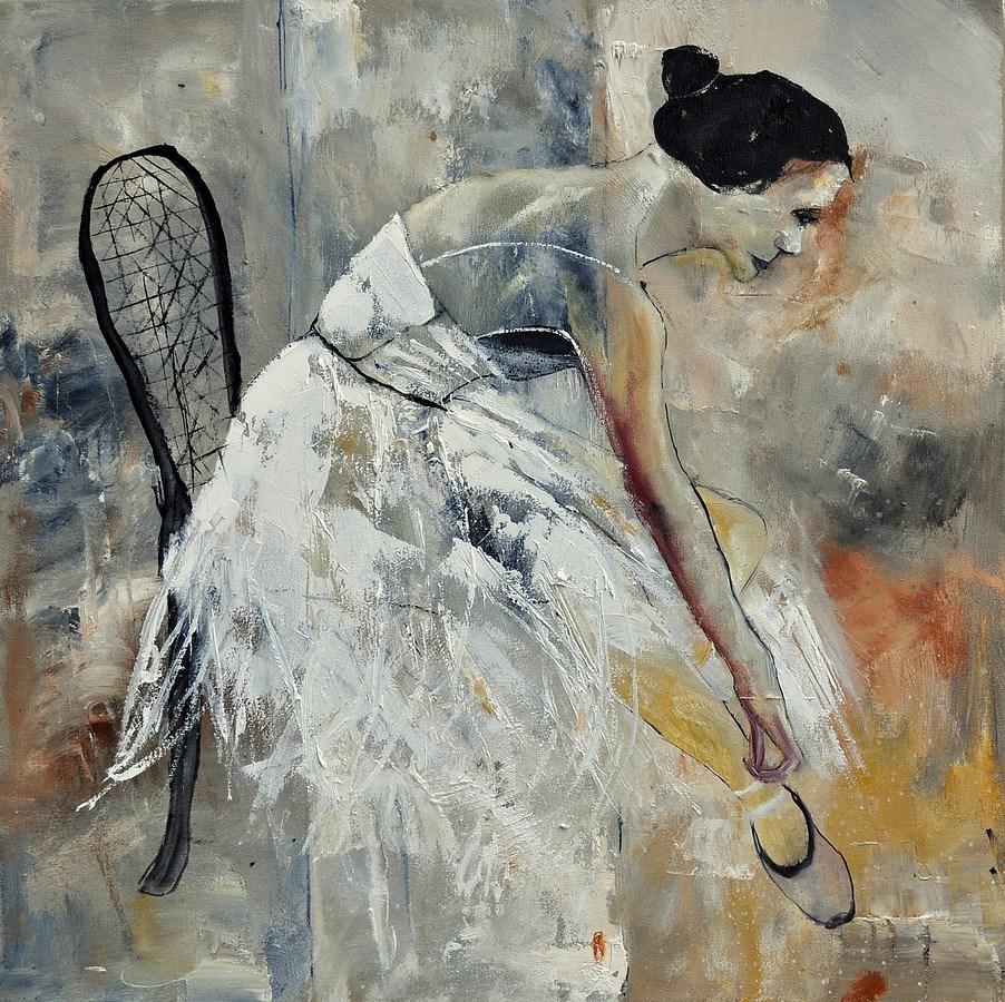 """""""Ballerina"""" original fine art by Pol Ledent"""