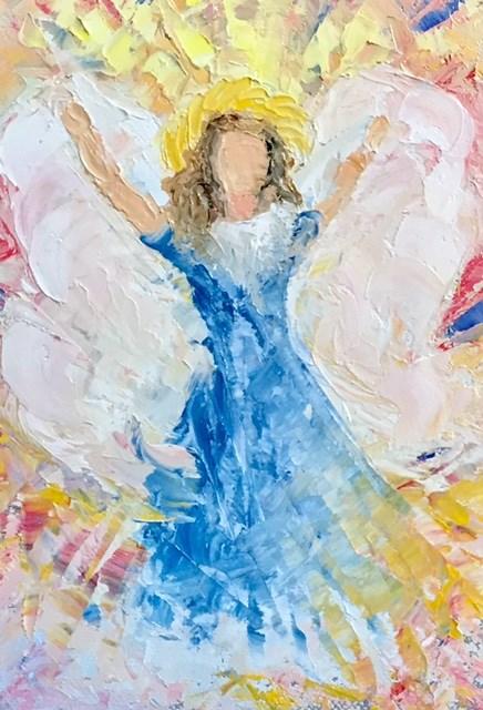 """Celebrating"" original fine art by Carole Chalmers"