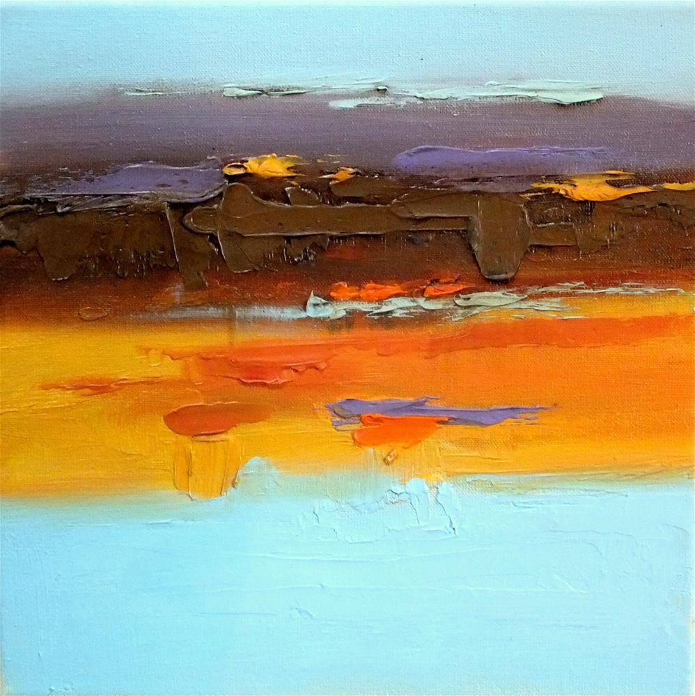 """Landscape 373"" original fine art by Ewa Kunicka"
