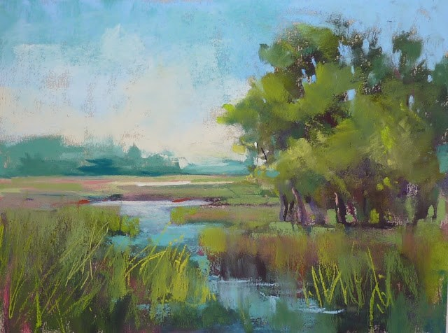 """Large Pastels Paintings...Your Questions Answered"" original fine art by Karen Margulis"