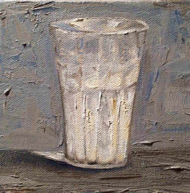 """Milk"" original fine art by Tamsen Armstrong"
