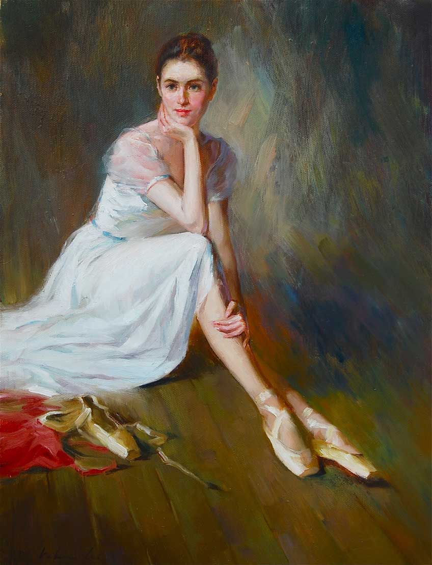 """Ballerina ( 07 )"" original fine art by Kelvin Lei"
