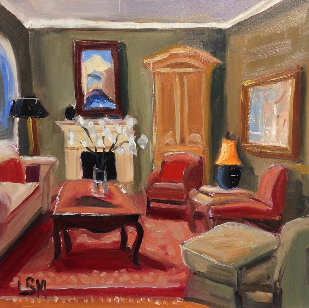 """Red Room"" original fine art by Linda Marino"
