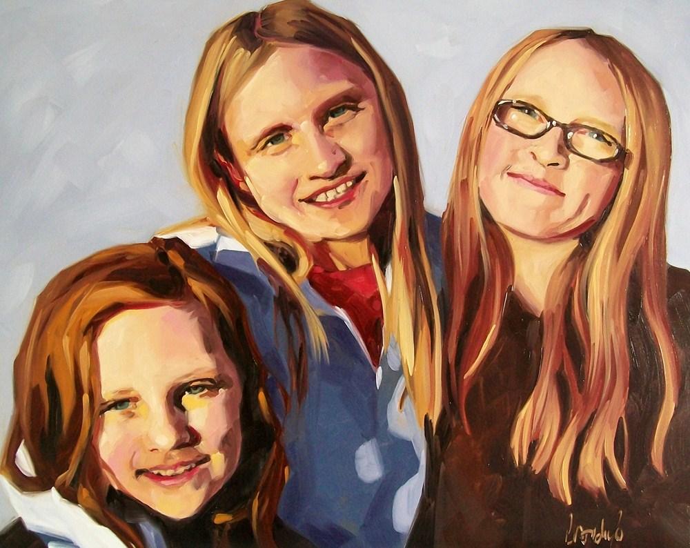 """Sisters"" original fine art by Brandi Bowman"