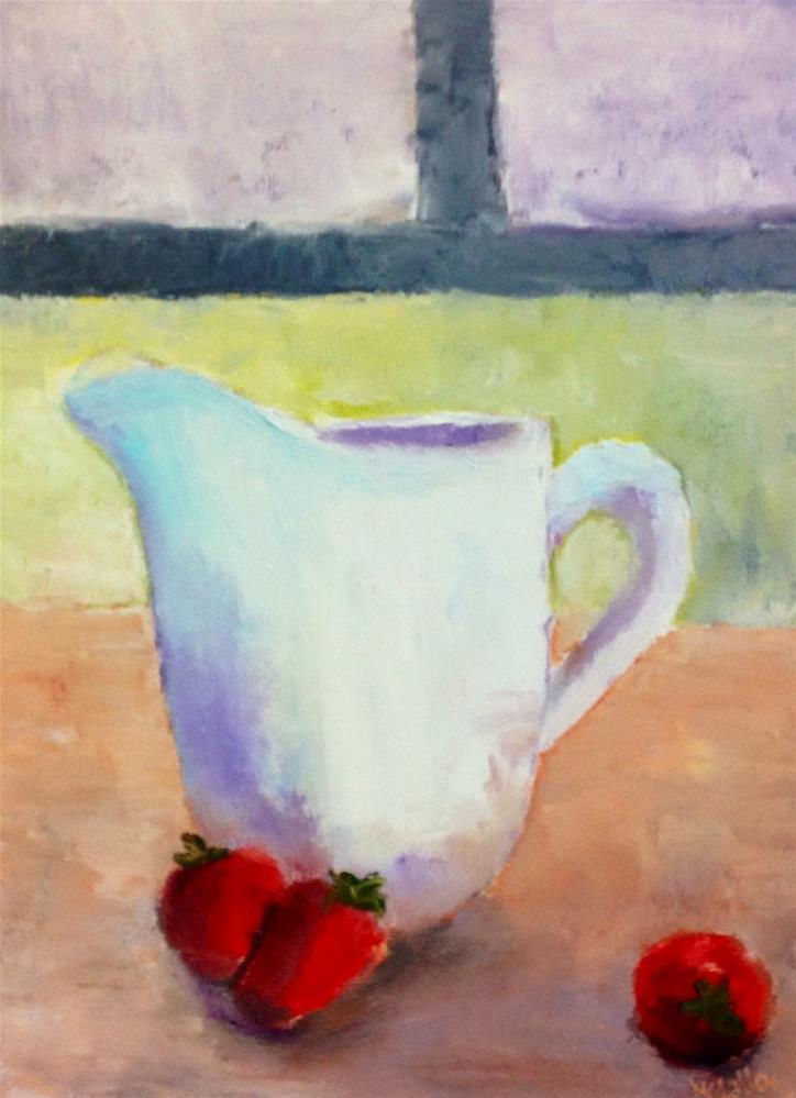 """""""Simple Things"""" original fine art by Maggie Flatley"""
