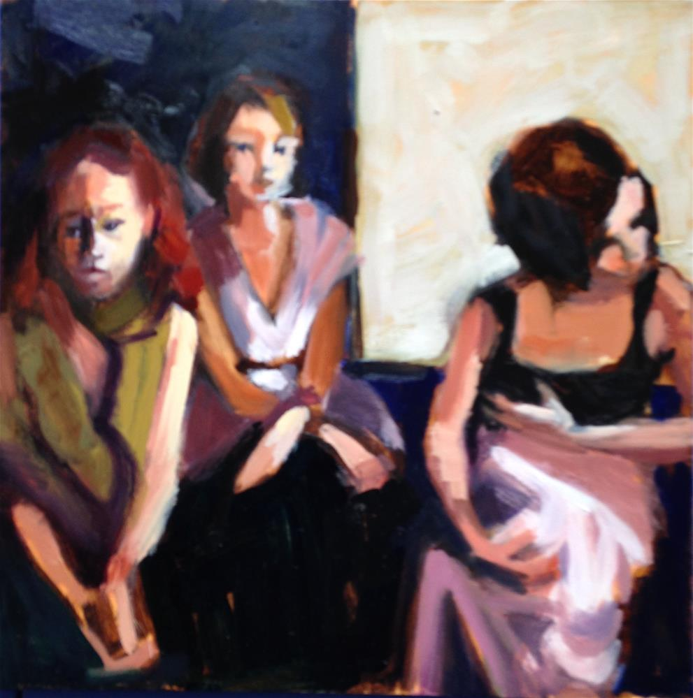 """Three Graces II"" original fine art by Pamela Hoffmeister"