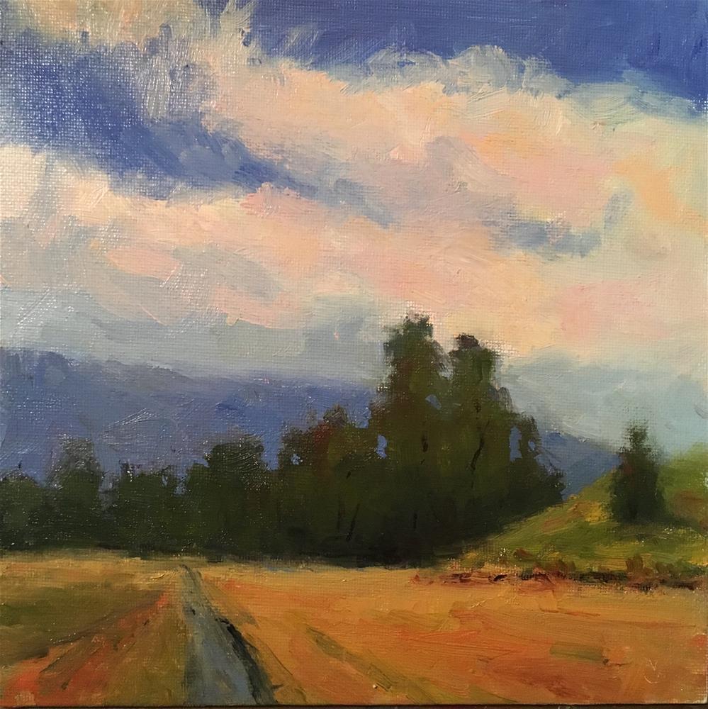 """Ricketts Road"" original fine art by Victoria  Biedron"