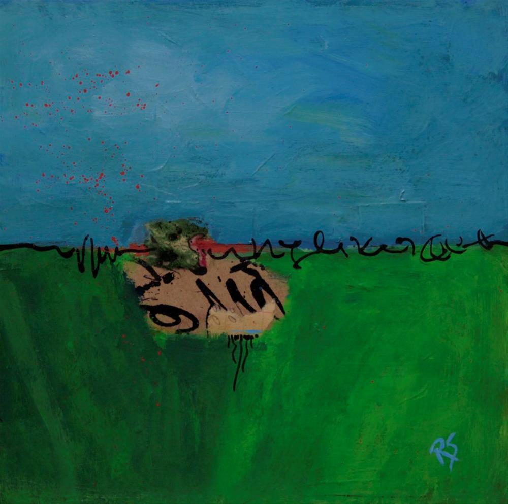 """""""Between Field and Sky"""" original fine art by Roberta Schmidt"""