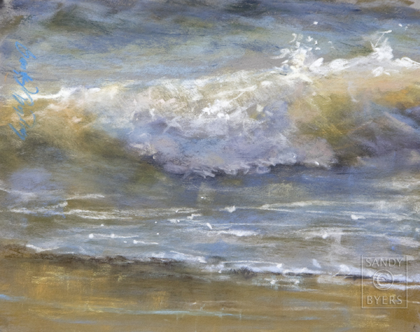 """Love Letter to the Sea, 1181"" original fine art by Sandy Byers"