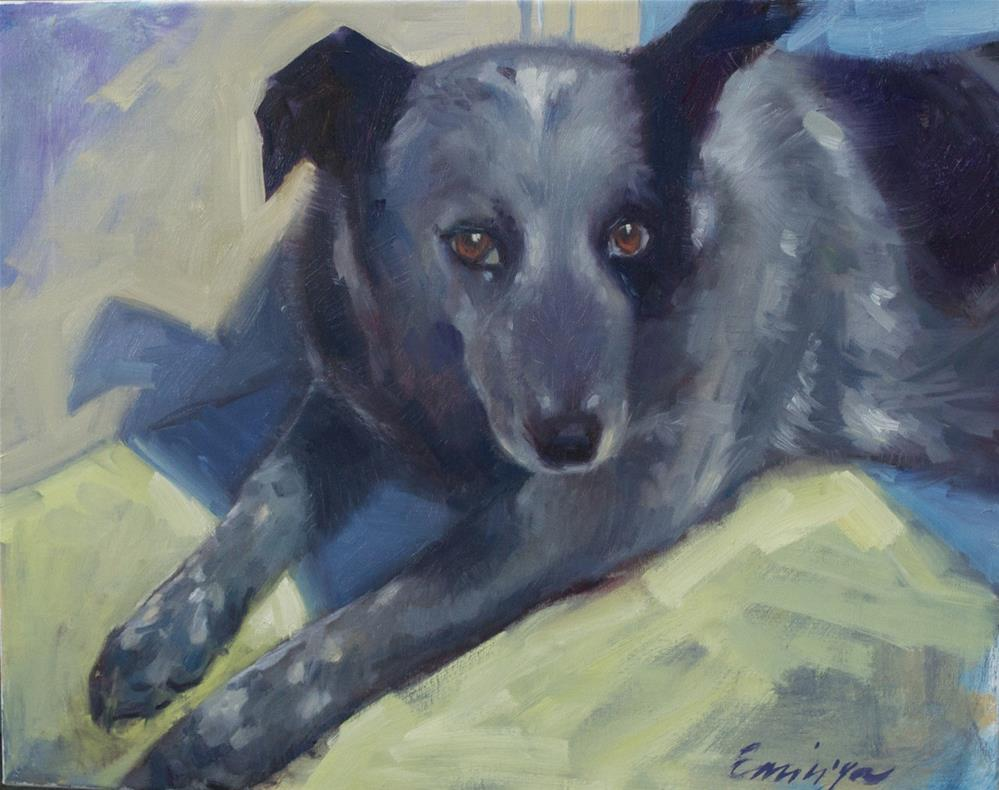 """Mazzy"" original fine art by Emiliya Lane"