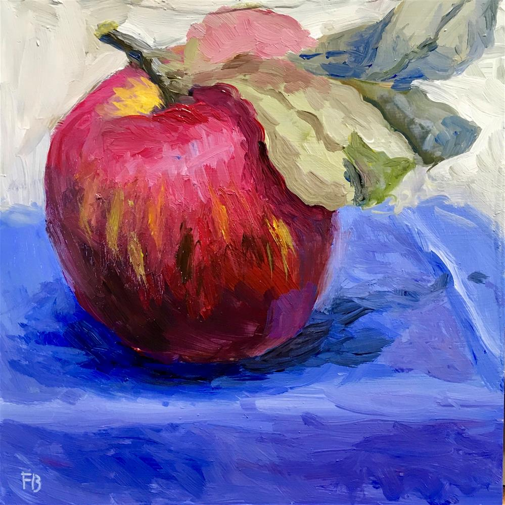 """126 Fresh Apple"" original fine art by Fred Bell"