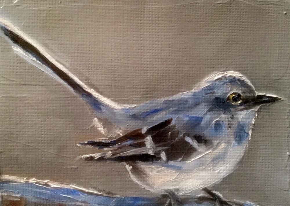 """Mockingbird"" original fine art by Gary Bruton"