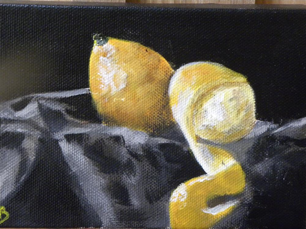 """Lemons"" original fine art by cheryl buhrman"