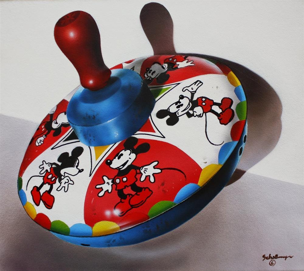 """Mickey Top"" original fine art by Fred Schollmeyer"