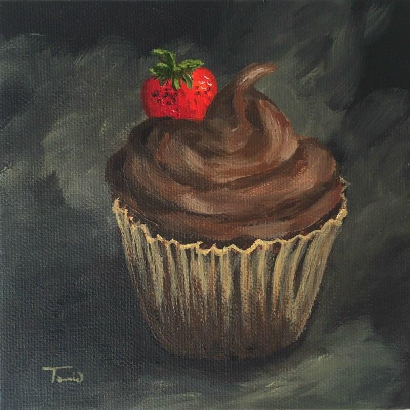 """Cupcake 009"" original fine art by Torrie Smiley"