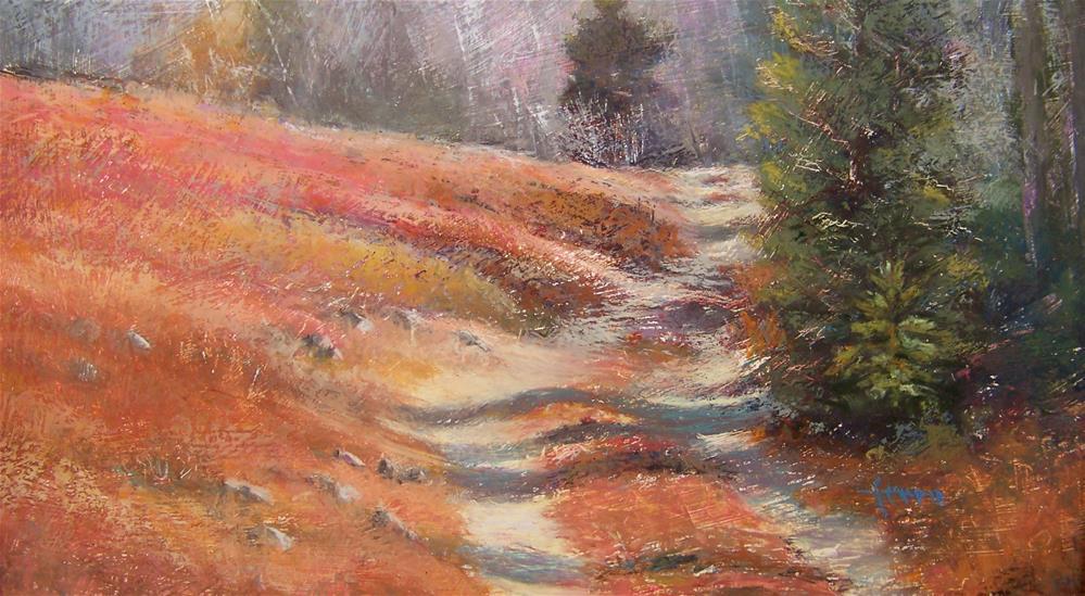 """Warm Breeze"" original fine art by Susan Ferro"