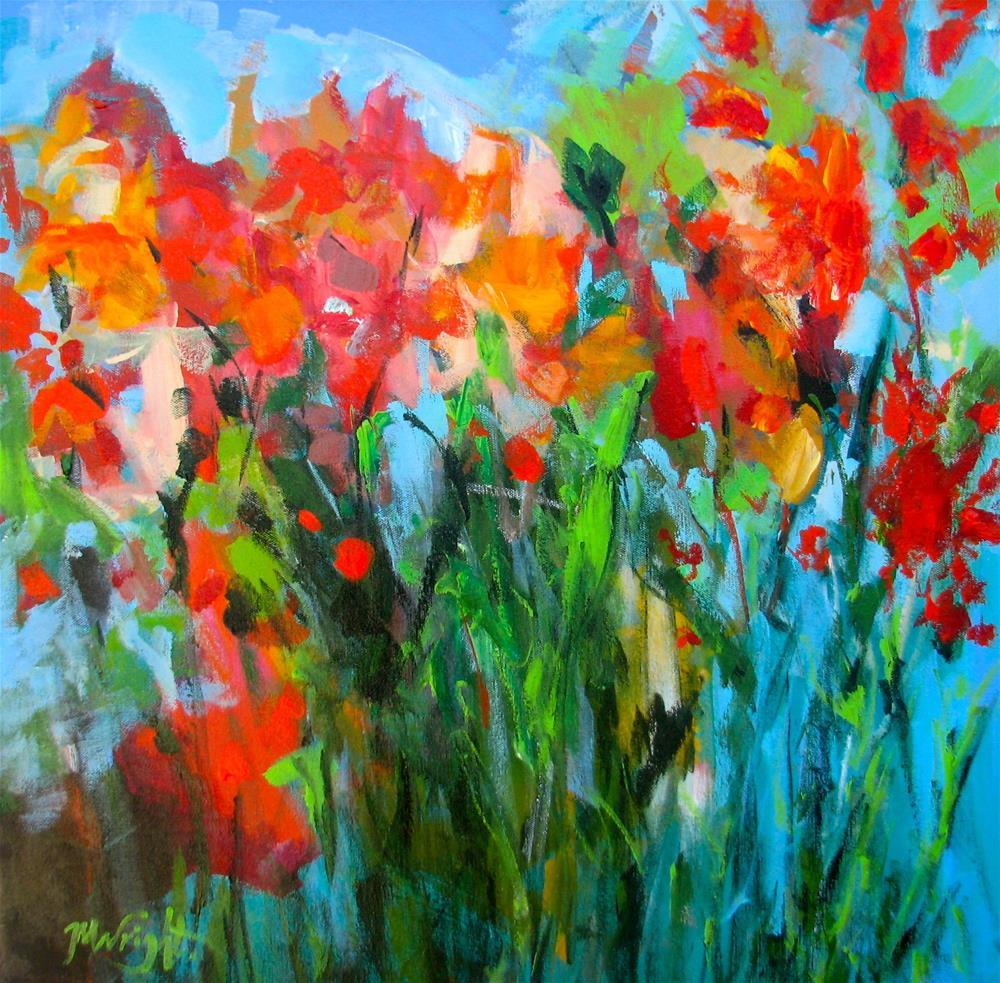 """Splendid"" original fine art by Molly Wright"