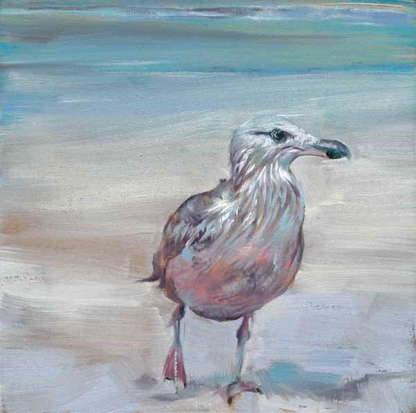 """I'm Off!"" original fine art by Brenda Ferguson"