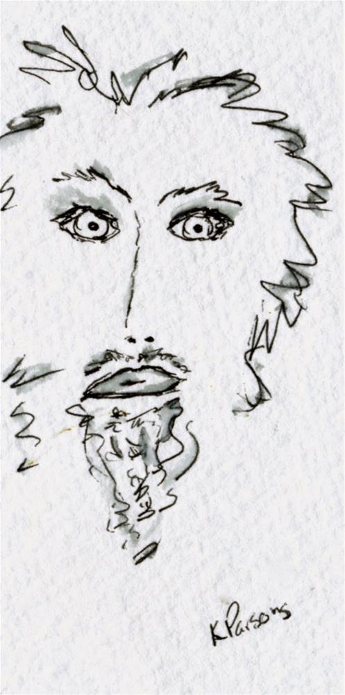 """No Shave November 3 - American Cancer Society Fundraiser"" original fine art by Kali Parsons"