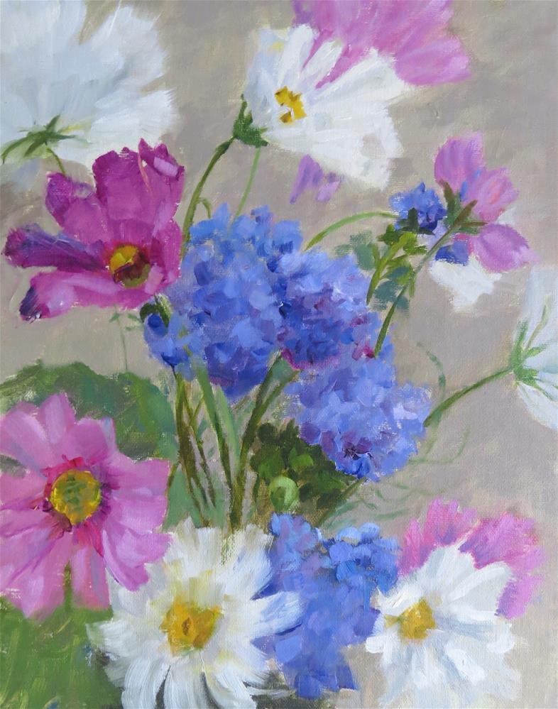 """Summer Bouquet"" original fine art by Pam Holnback"