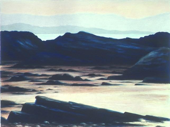 """The Strand Near Portnoo"" original fine art by Joe Fitzgerald"