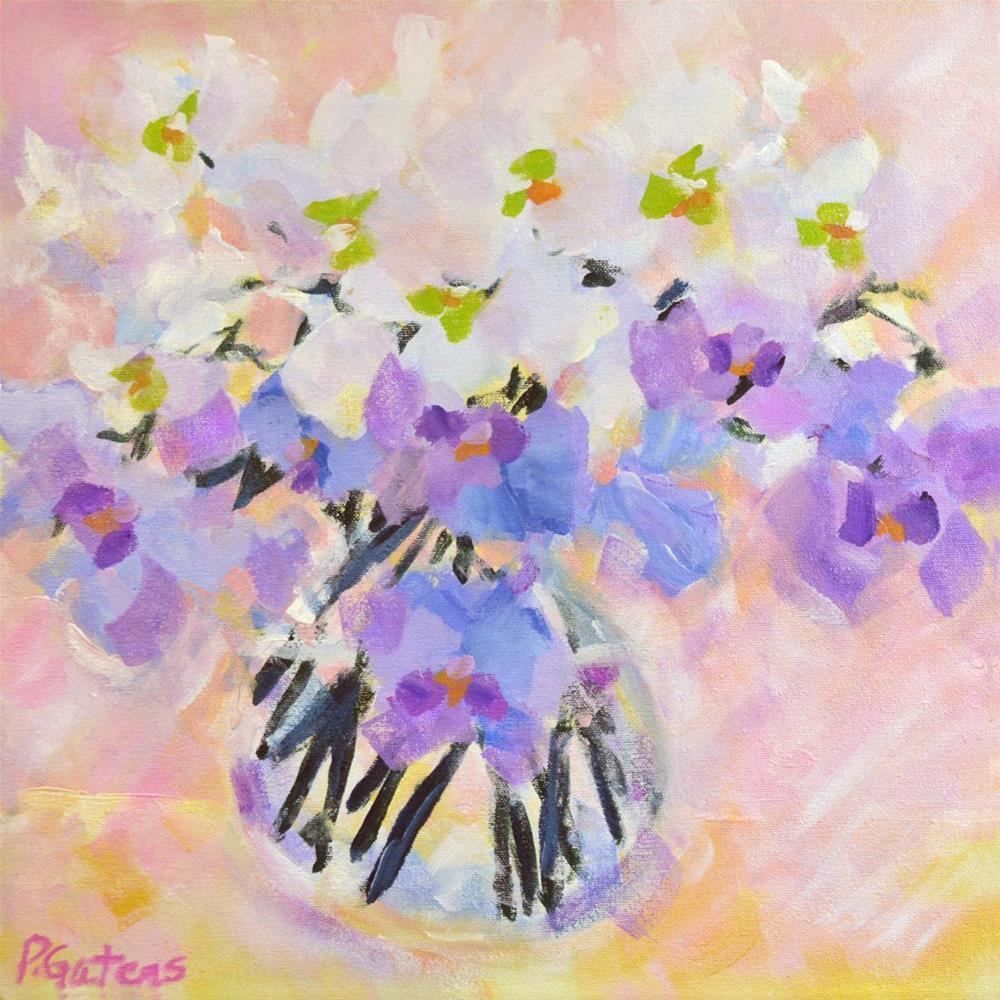 """Orchid Chiffon"" original fine art by Pamela Gatens"