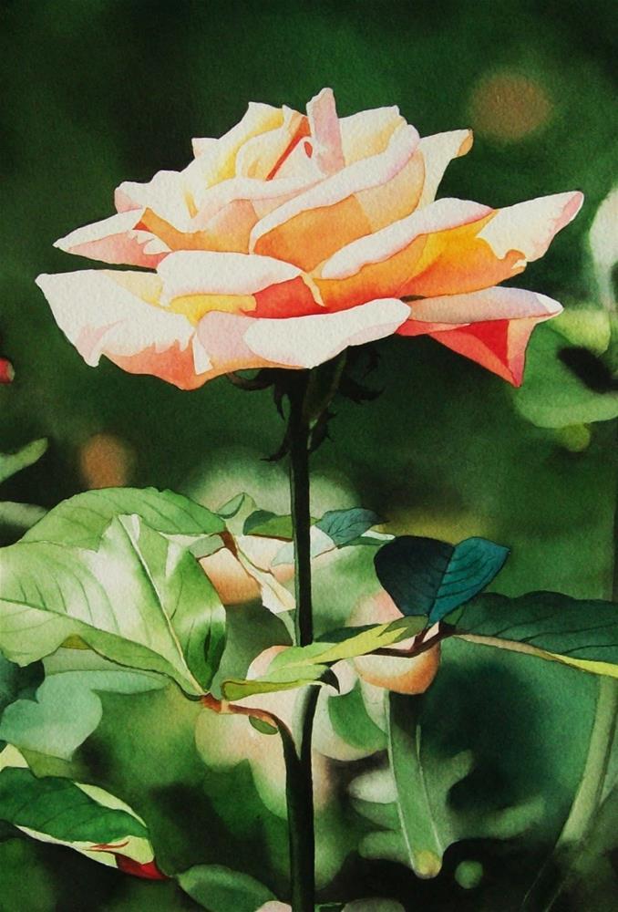 """Garden Queen"" original fine art by Jacqueline Gnott, whs"